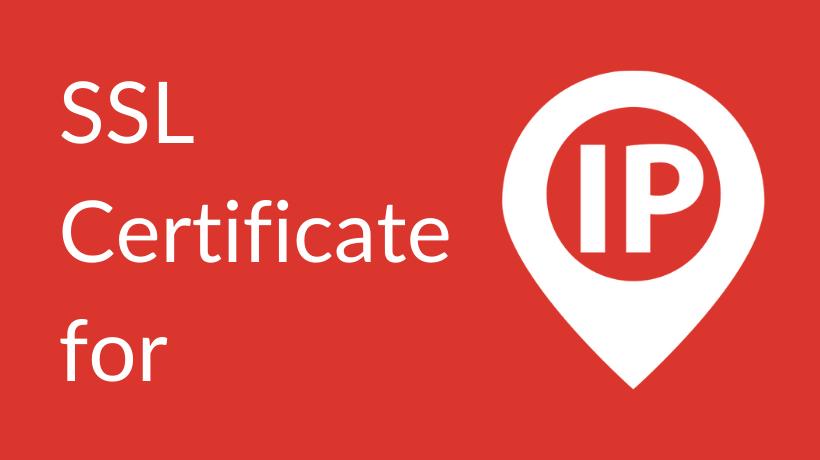 SSL_certificate_for_IP_address