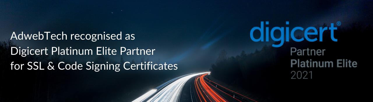DigiCert Platinum Partner 2021